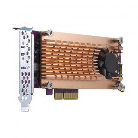 Qnap QM2-2P-384 dual M.2 22110/2280 SATA SSD expansion card