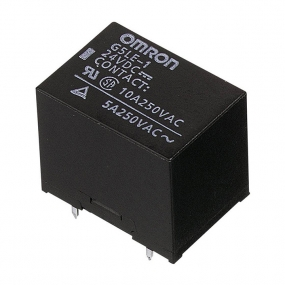 Relej G5LE-12 (12V, 10A, 1xM+R)