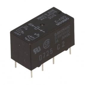 Relej G5V2-5 (5V, 2A, 2xM+R)