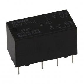 Relej G5V2-5H1 (5V, 2A, 2x M+R)