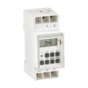 Tajmer DT-DIN digitalni za DIN šinu, 16A/250VAC