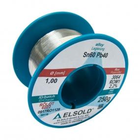 Tinol žica Elsold Sn60/Pb40, 1mm 250g