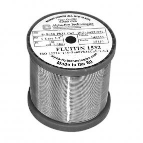 Tinol žica Fluitin 1532 1mm 1kg Sn60Pb38Cu2