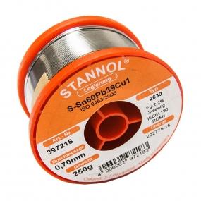 Tinol žica Stannol 0.7mm 250g Sn60Pb39Cu1 2630