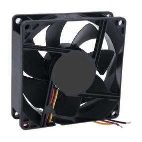 Ventilator 80x80x25 12VDC, 3-pin