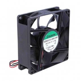 Ventilator 80x80x25 12VDC