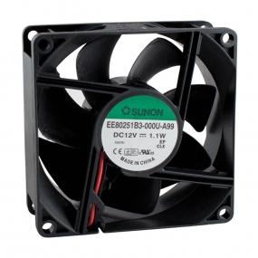 Ventilator 80x80x25 24VDC lager