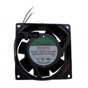 Ventilator 80x80x38 230VAC lager