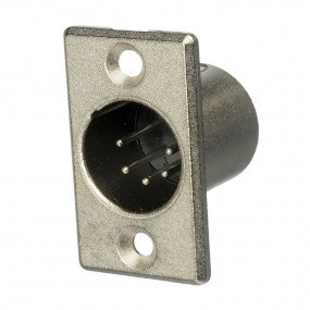 XLR 5pol metalni ugradni